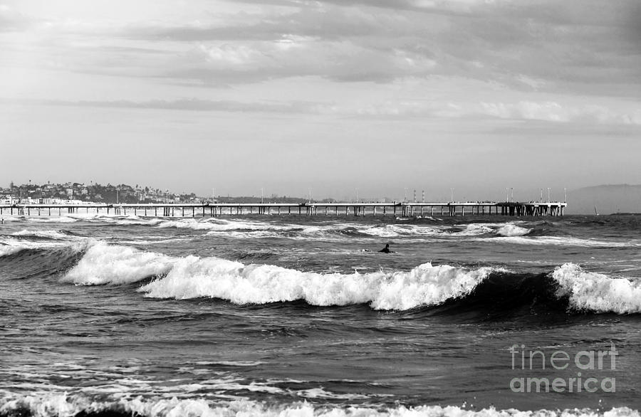 Venice Beach Waves I Photograph - Venice Beach Waves IIi by John Rizzuto