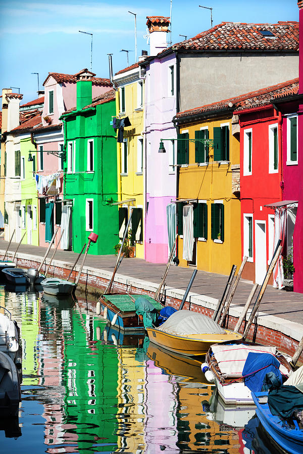 Venice  Burano Island Photograph by Nicolamargaret