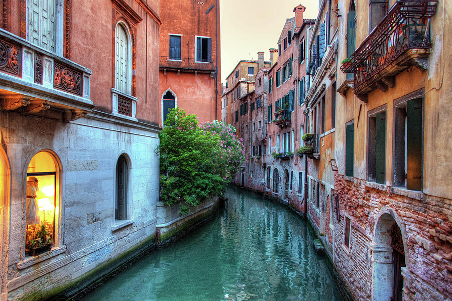 Venice Canals Photograph by Emad Aljumah