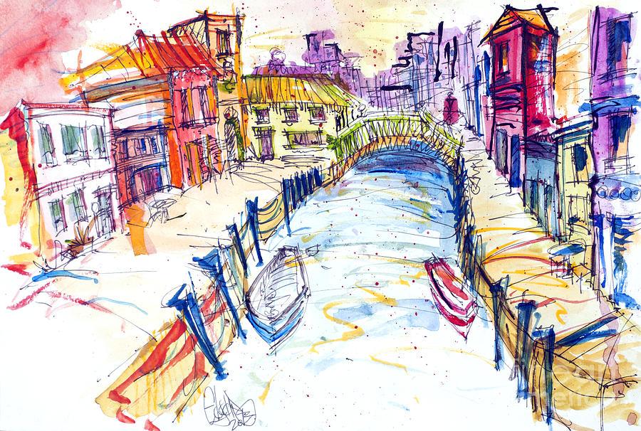 Venice Mixed Media - Venice by Edgar Rafael