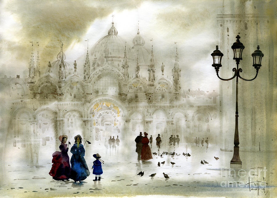Venice Painting - Venice IIi by Svetlana and Sabir Gadghievs