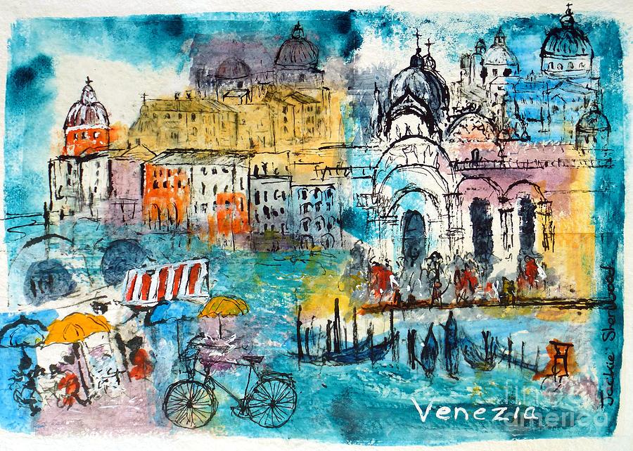 Venice Impressions by Jackie Sherwood