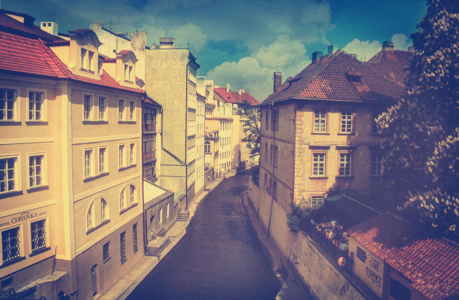 Prague Photograph - Venice In Prague by Taylan Apukovska