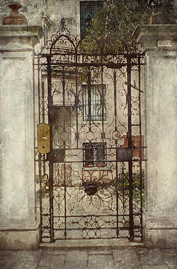 Venice Iron Gate Photograph