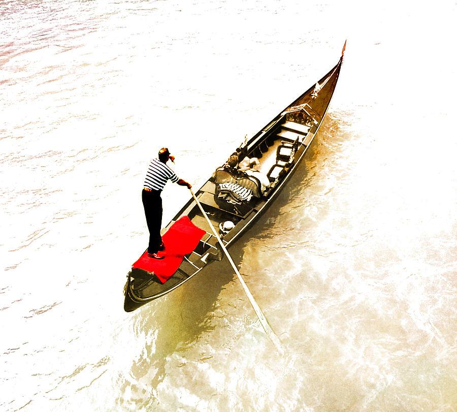 Venice Photograph - Venice Italy Gondola by Brian Reaves