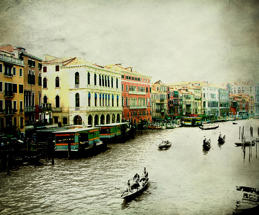 Venice Photograph - Venice Italy Magical City by Brian Reaves