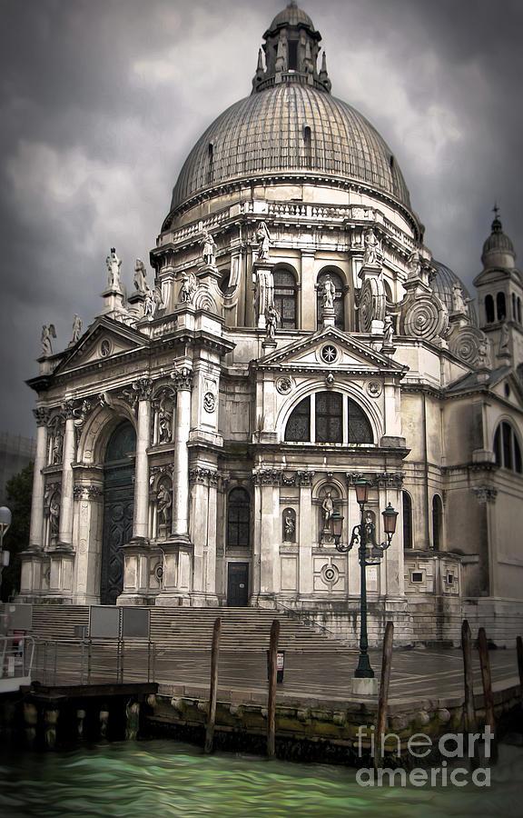 Venice Painting - Venice Italy - Santa Maria Della Salute by Gregory Dyer