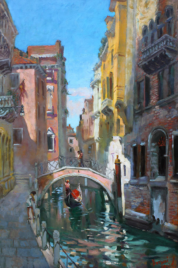 Venice Painting - Venice Italy by Ylli Haruni