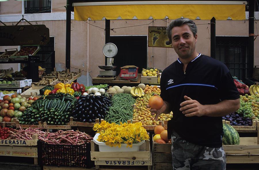 Italy Photograph - Venice Market by Susan Rovira
