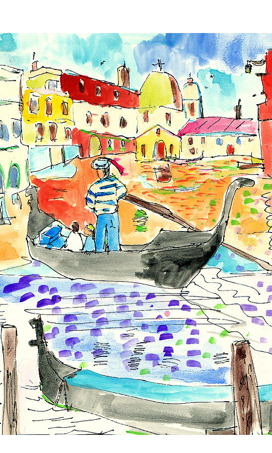 Italy Painting - Venice by Samuel Zylstra