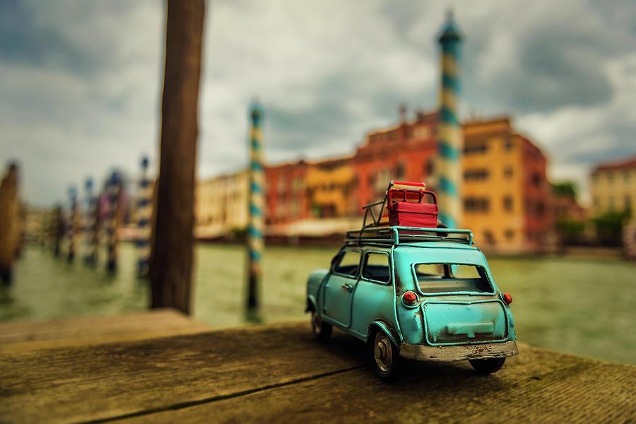 Venice Photograph - Venice Stopped by Luis Francisco Partida