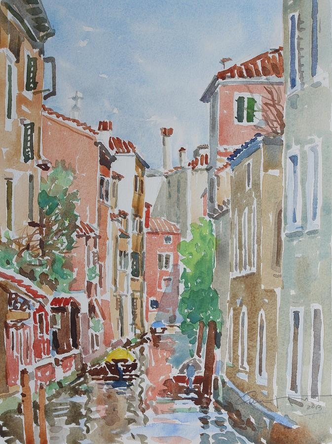 Venice Painting - Venice Summer by Owen Hunt
