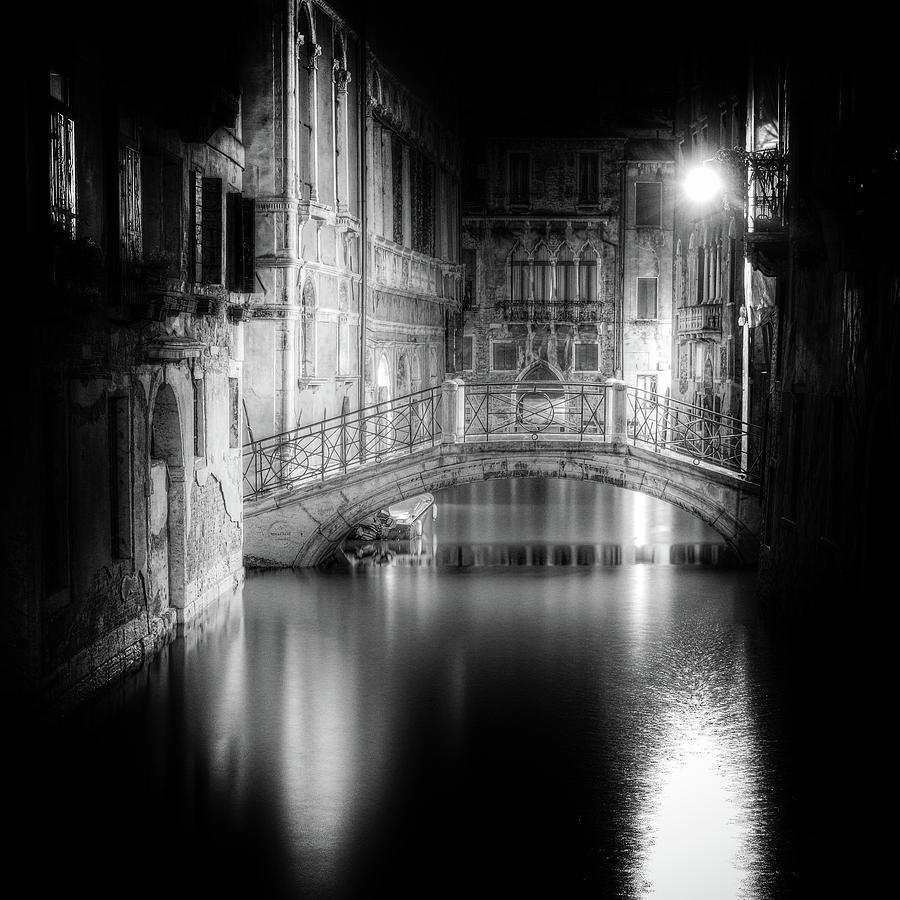 Bw Photograph - Venice by Tanja Ghirardini