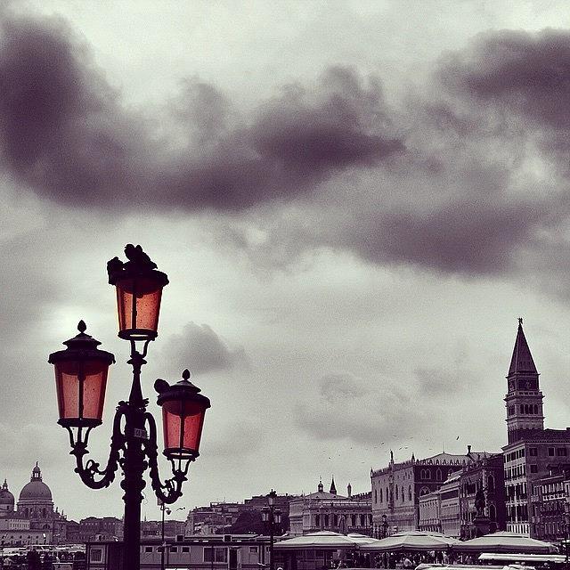 Venezia Photograph - #venice #venezia #colorsplash #city by Luisa Azzolini