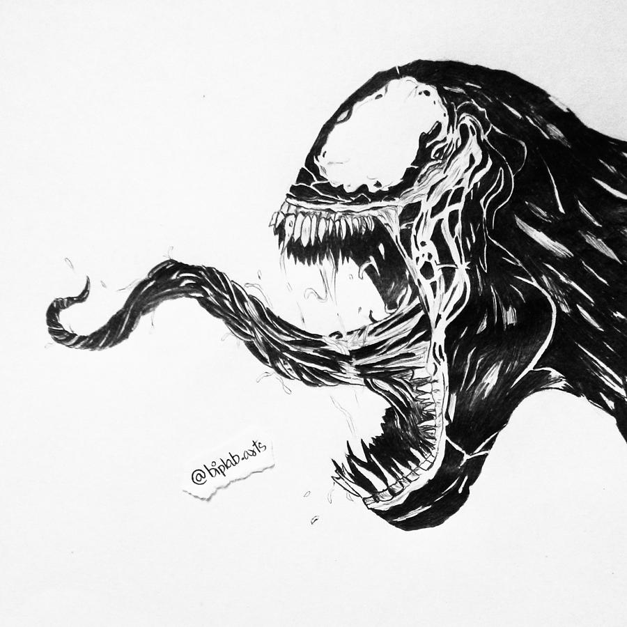 Venom By Biplab Basumatary Drawing By Biplab Basumatary