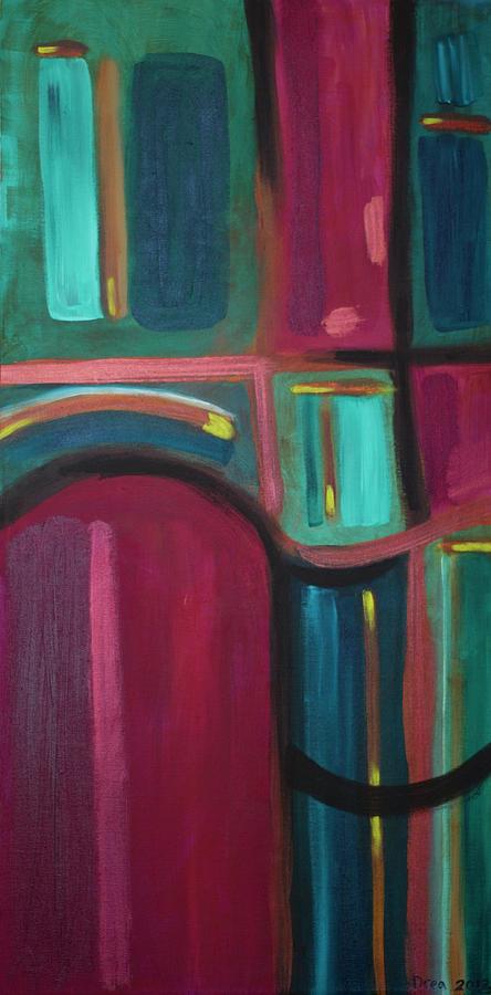 Spirit Painting - Ventral 2012 by Drea Jensen