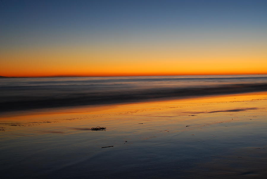 Beach Photograph - Ventura Beach Evening by Catherine Lau