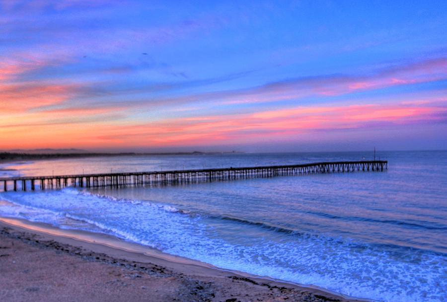 Ventura Photograph - Ventura Beach Pier by Walt Miller