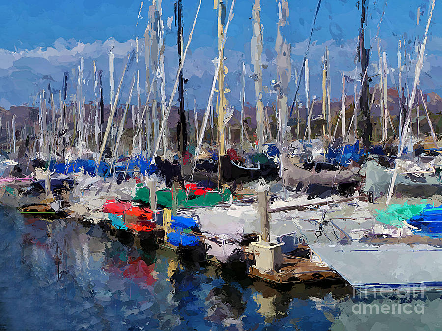 Ventura Harbor Village by Andrea Auletta