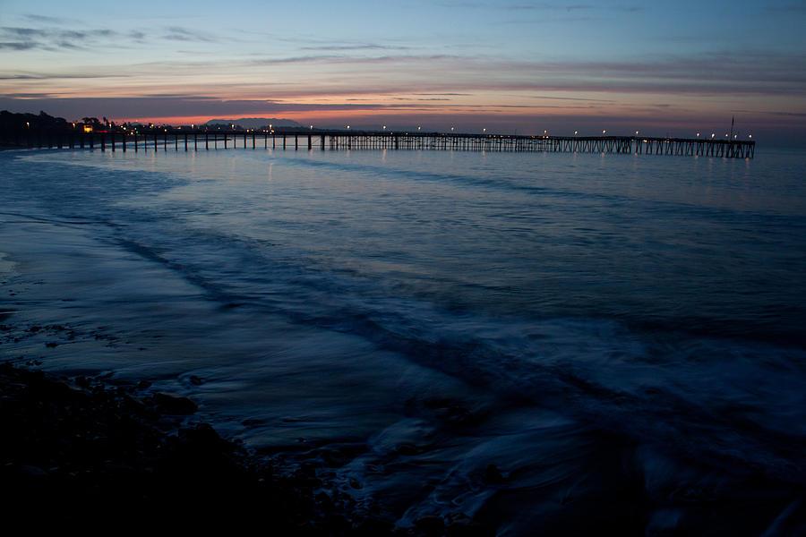 Ventura Photograph - Ventura Pier Sunrise by John Daly