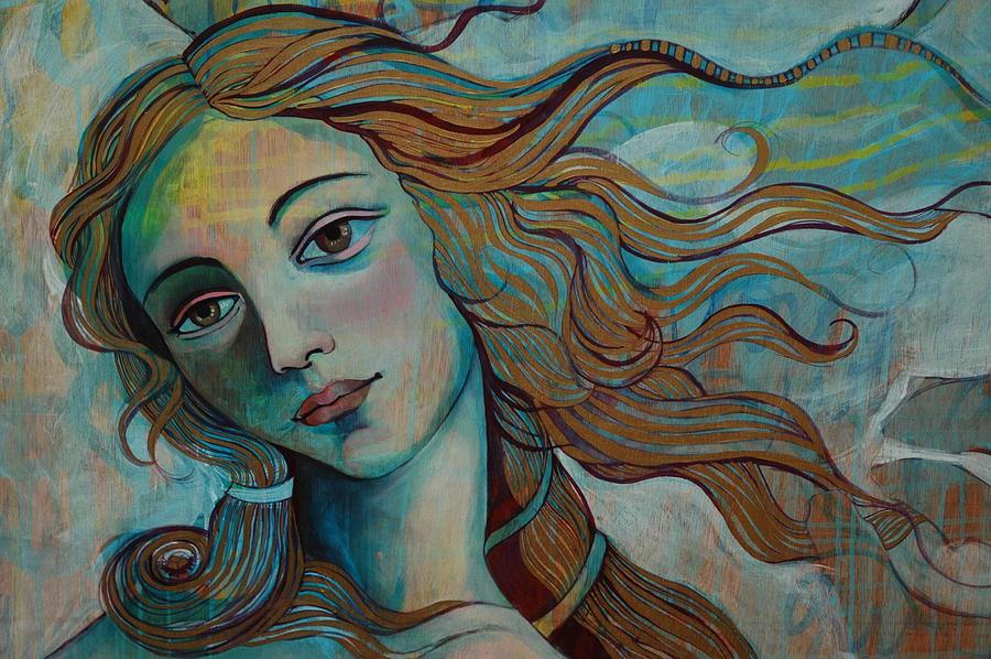 Venus Painting by Jennifer Kosharek