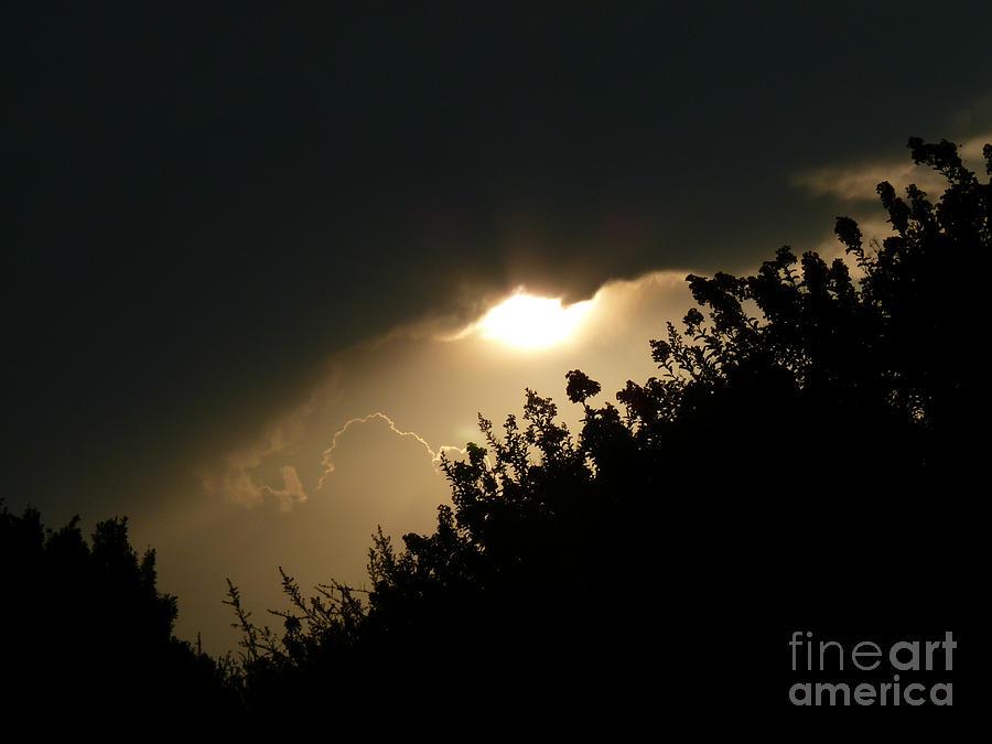 Sunrise Photograph - Venus Transit Day by N Faulkner