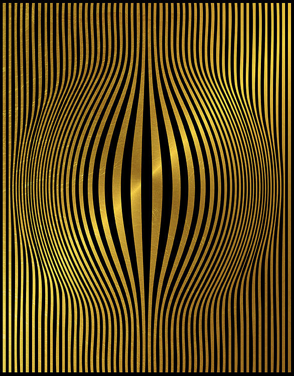 Optical Illusion Painting - Venusienne Bubble by Stephane Catalano