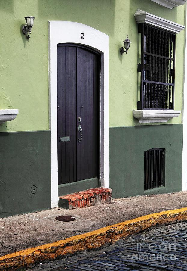 Architecture Photograph - Verde En San Juan by John Rizzuto