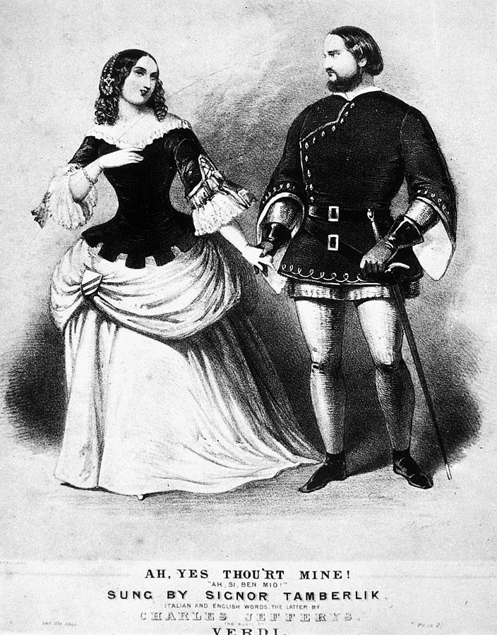 19th Century Painting - Verdi Il Trovatore by Granger