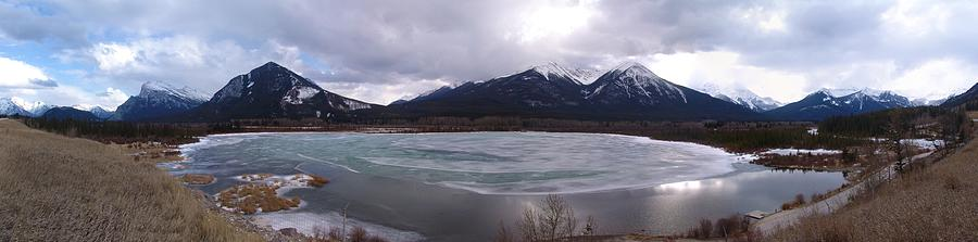 Vermillion Lakes, Banff National Park - Panorama Photograph