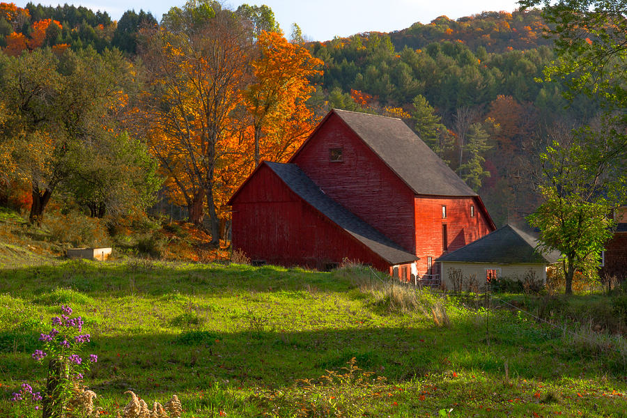 Vermont in the fall stock photo. Image of landscape