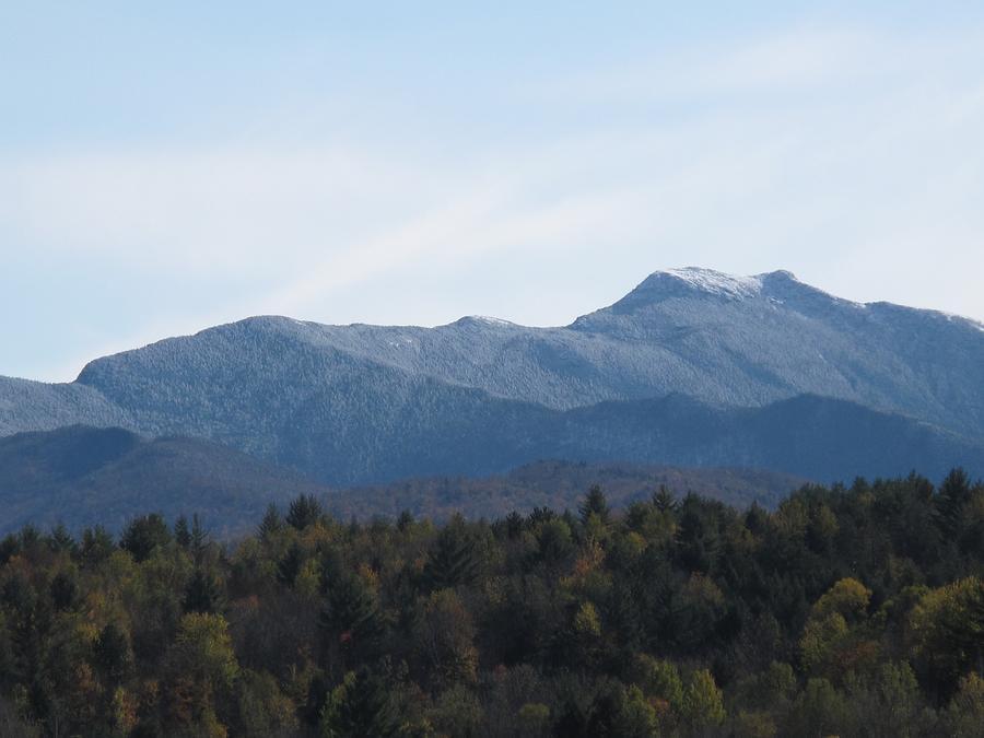 Mountains Photograph - Vermont Mountains by Barbara McDevitt