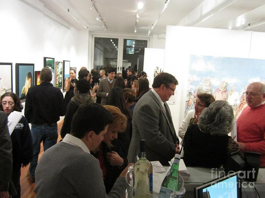 Mae Painting - vernissage Maes at New York by Thomas Maes