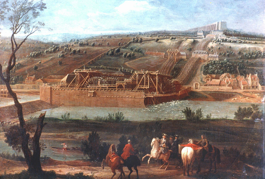 1684 Painting - Versailles by Granger