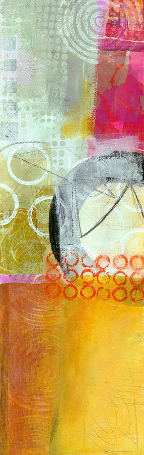 Vertical Painting - Vertical 4 by Jane Davies