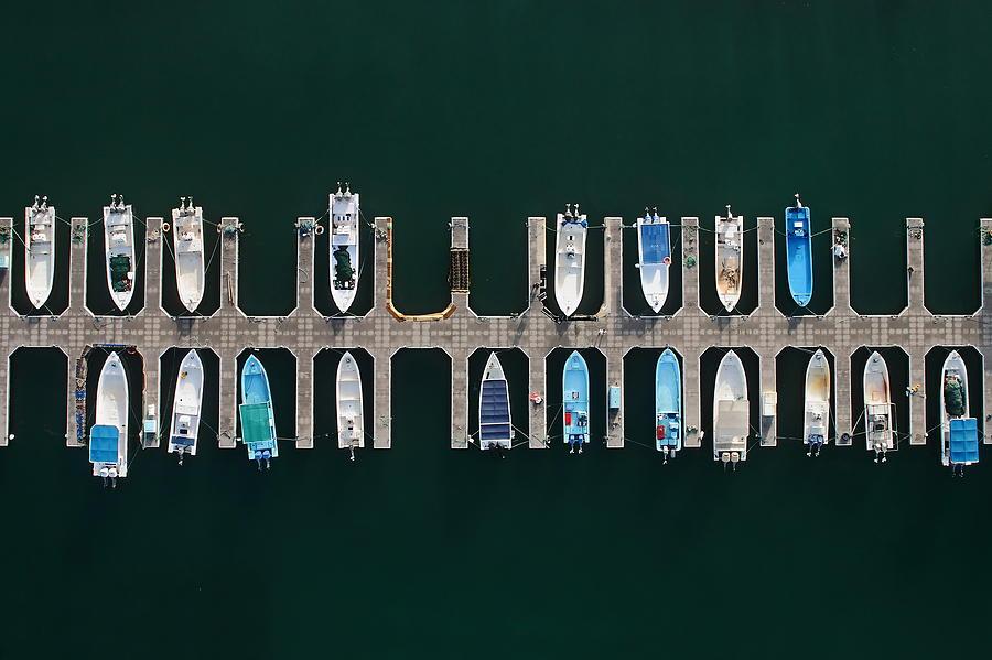 Aerial Photograph - Vertical Alignment by Shoayb Hesham Khattab