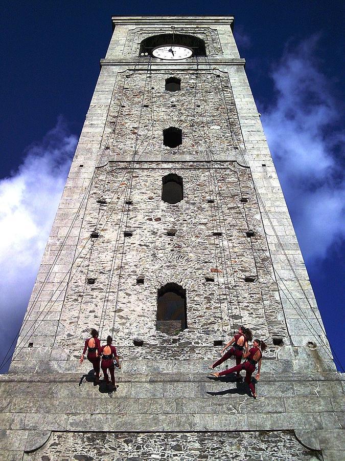 Vertiges Photograph - Vertical Dance by Giuseppe Epifani
