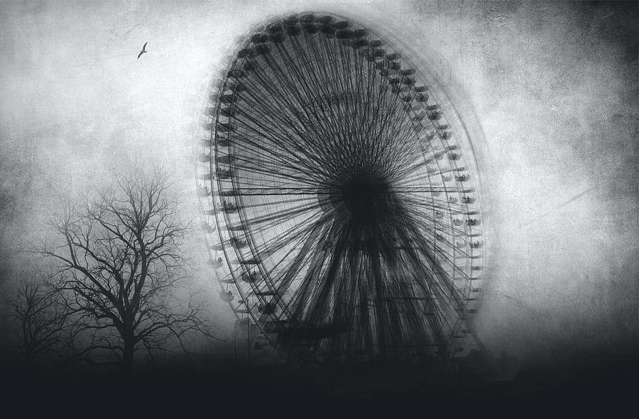 Black And White Photograph - Vertigo by Taylan Apukovska