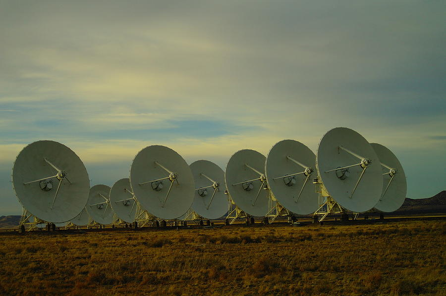 New Mexico Photograph - Very Large Array Near Socorro New Mexico by Jeff Swan