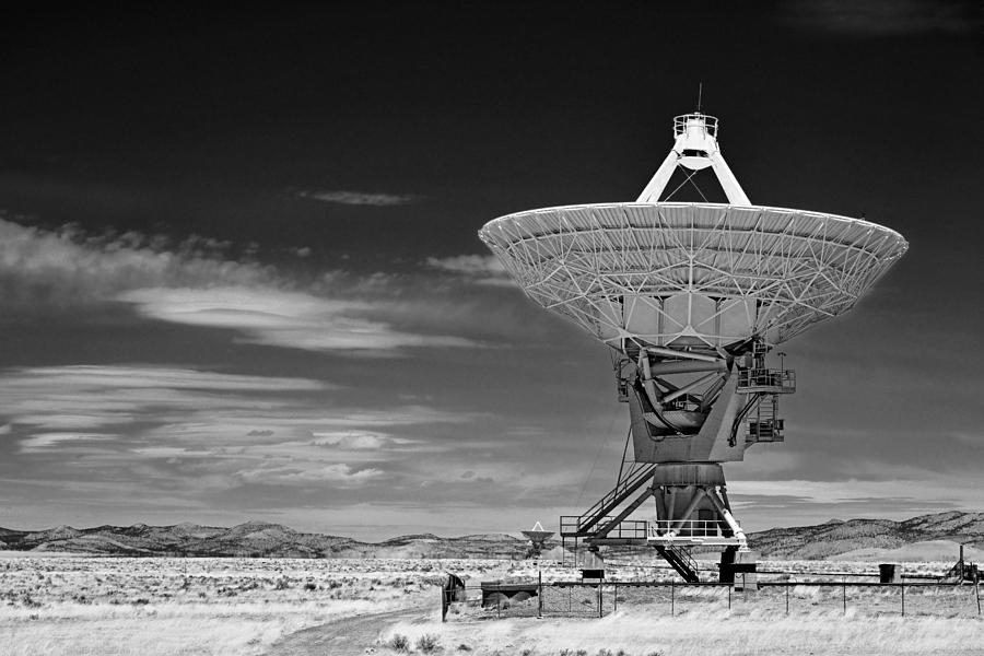 Very Large Array Photograph - Very Large Array Radio Telescopes by Christine Till