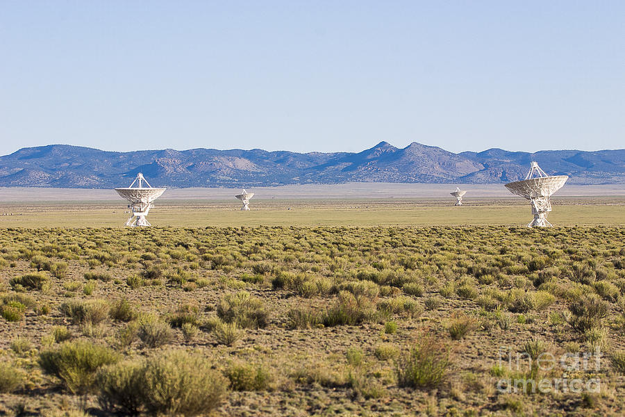 New Mexico Photograph - Very Large Array by Steven Ralser