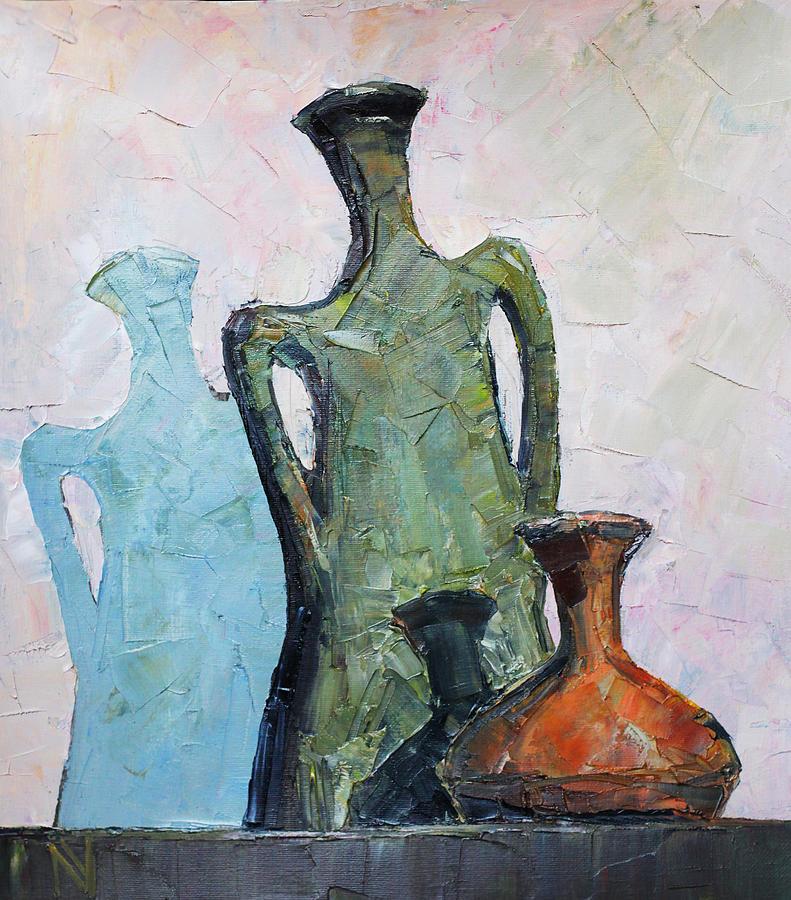 Vessels Painting - Vessels by Vladimir Naryzhny