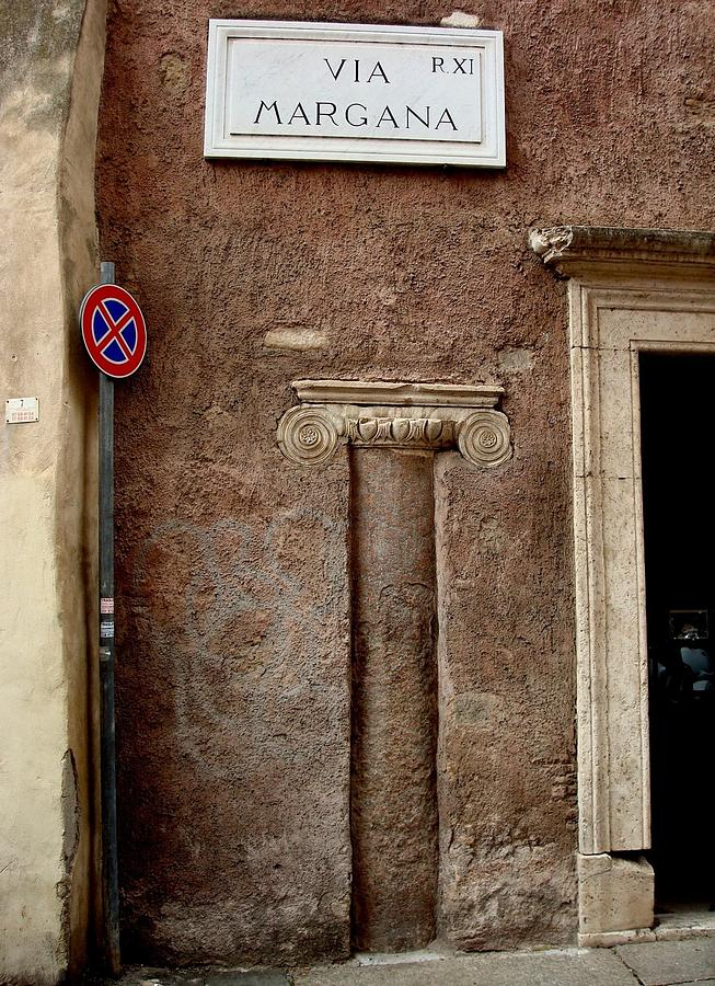 Rome Photograph - Via Margana  by Natalya Karavay