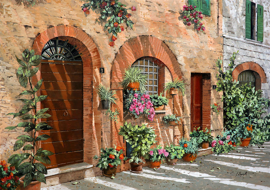 Tuscany Painting - Viaggio In Toscana by Guido Borelli
