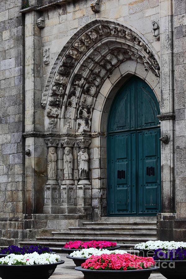 Viana Do Castelo Photograph - Viana Do Castelo Cathedral by James Brunker