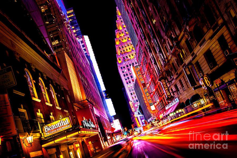 Vibrant New York City Photograph