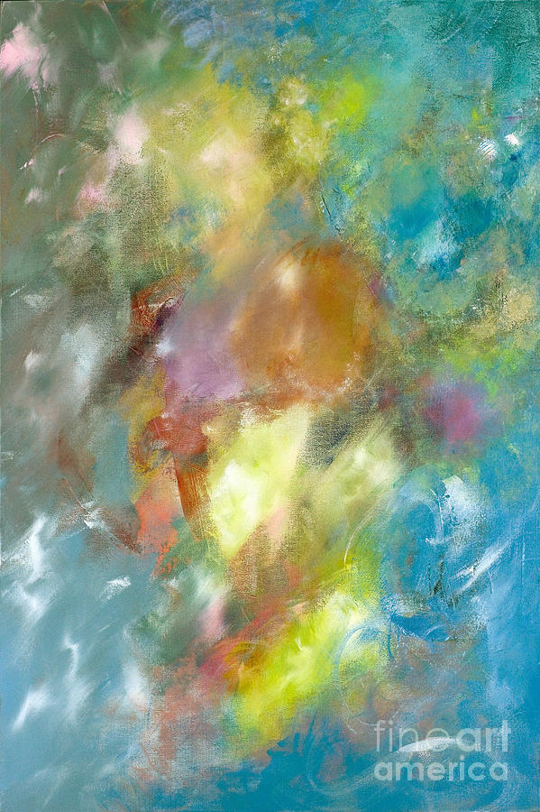 Acrylic Painting - Vibrant Sky by Jason Stephen