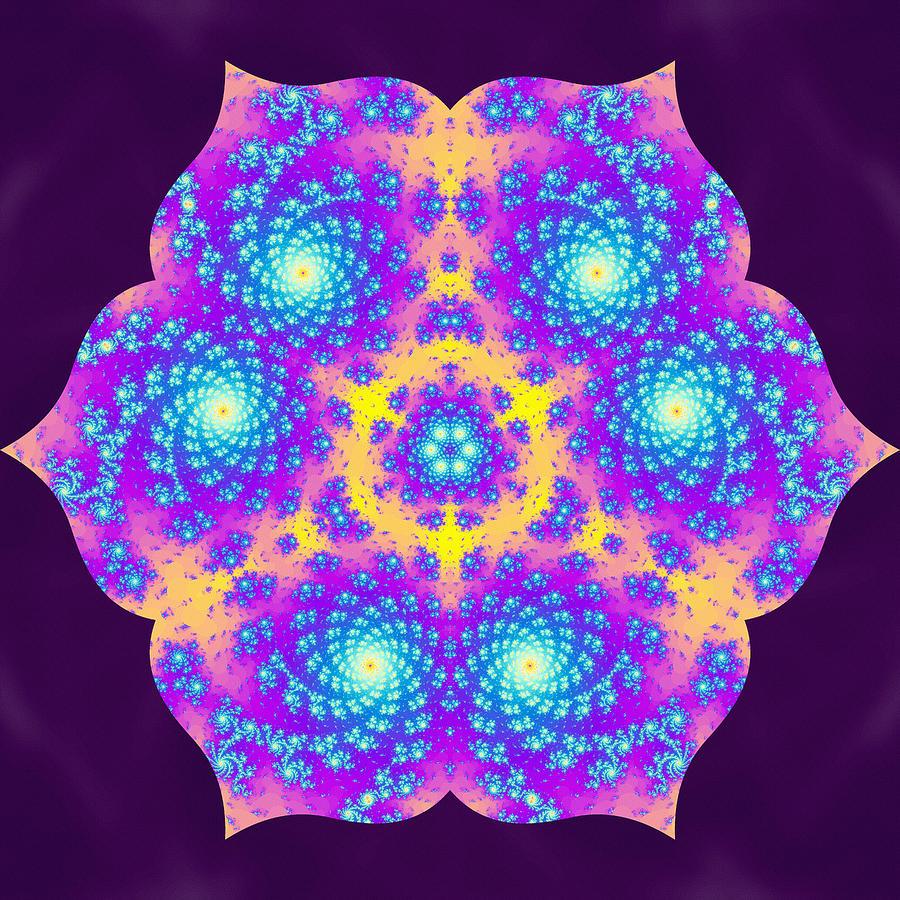 Sacredlife Mandalas Digital Art - Vibrations Of Khufu by Derek Gedney