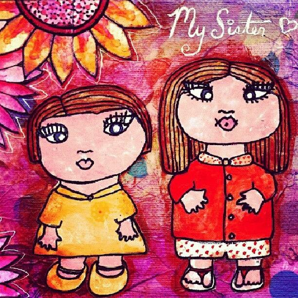 Vic And Rach When They Were Lil Photograph by Robin Mead