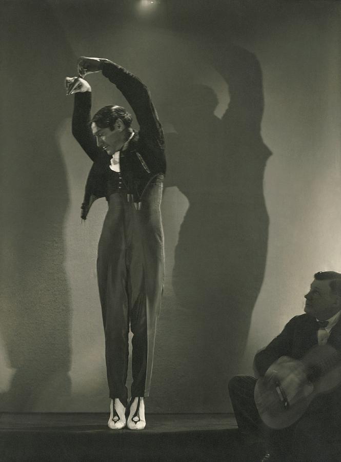 Vicente Escudero Dancing Photograph by Edward Steichen